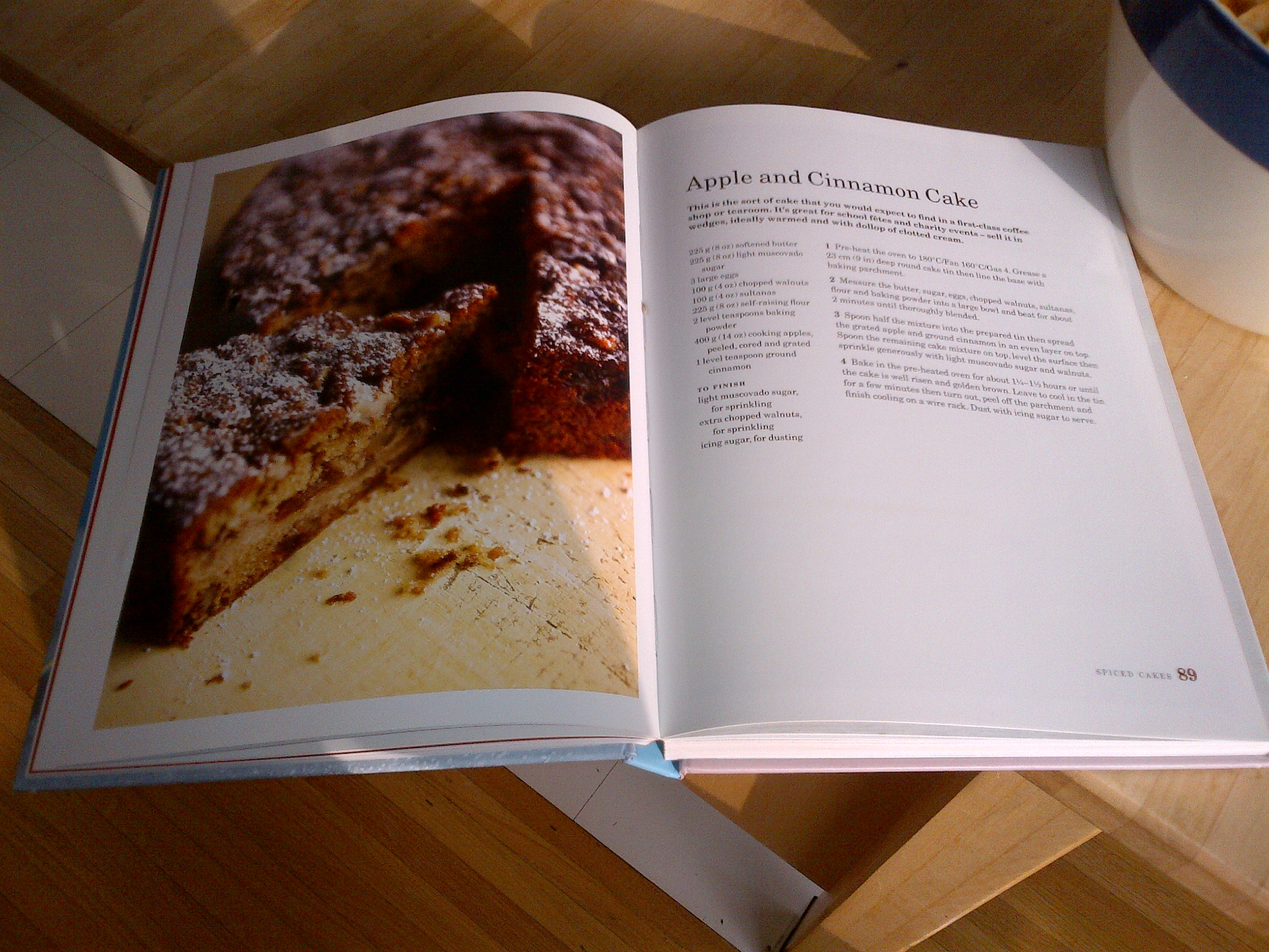 Mary Berry Apple And Cinnamon Cake Baking Bible